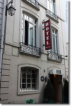 Hotel Bretonnerie, Paris, France