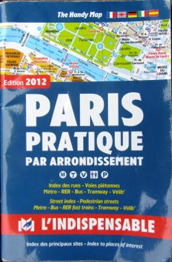 Paris Prqtique Par Arrondissement map book