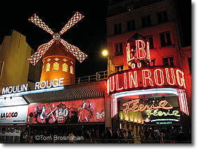 Moulin Rouge nightclub, Paris, France