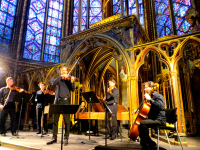 Concerts At The Sainte Chapelle Paris France
