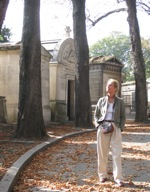 Walking in Montmartre Cemetery, Paris