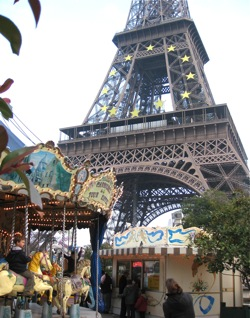 Eiffel Tower Carousel, Paris
