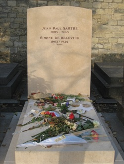 Tomb of Sartre and de Beauvoir, Paris