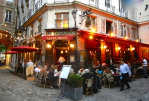 Bistro, rue de Buci, Paris, France