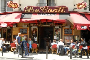 Cafe Le Conti Paris