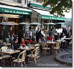Cafe Beaubourg  Rue St Merri Paris