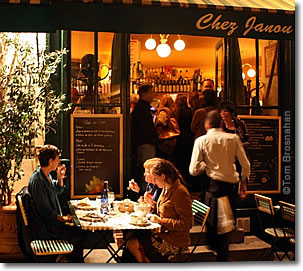 Chez Janou Restaurant, Paris, France