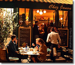 Chez Janou Restaurant Paris France