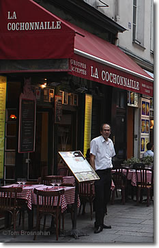 La Cochonnaille Restaurant, Paris, France