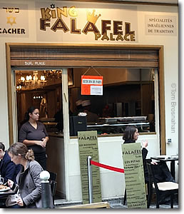 Falafel Palace, Paris, France