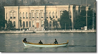 Camondo Mansion on the Golden Horn, Istanbul, Turkey