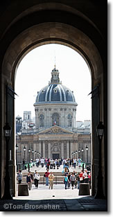 Institut de France from the Louvre, Paris, France