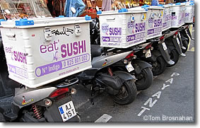 """Eat Sushi,"" Paris, France"