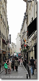 rue St-Andr�-des-Arts, Paris, France