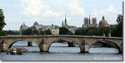 Cruise on the Seine in Paris, France