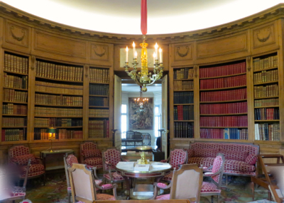 Library, Camondo Museum, Paris