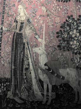 Lady and Unicorn, Cluny, Paris
