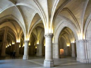 Hall of Men-at-Arms, Conciergerie, Paris