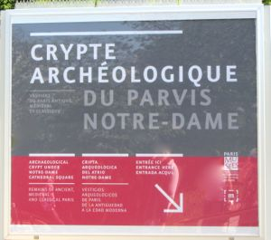 Archaeological Crypt, Parvis Notre Dame, Paris