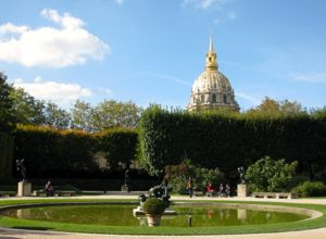 Les Invalides dome, Paris