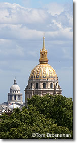 Hotel des Invalides dome, Paris, France