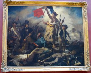 Delacroix, Liberty Guiding the People, Louvre