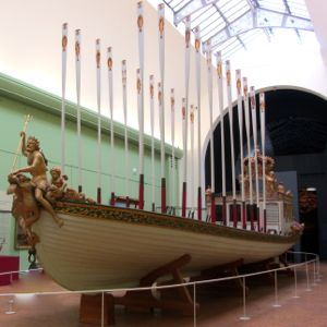 Napoleon's royal barge, Paris