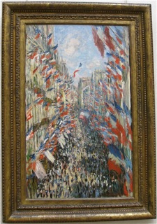 Monet, rue Montorgueil, Paris