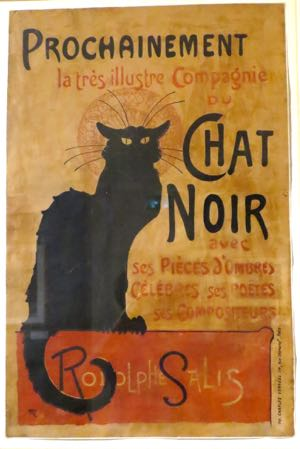 Le Chat Noir, Montmartre, Paris