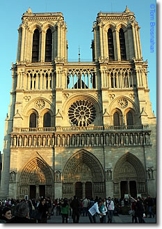 Cathedrale de Notre-Dame, Paris, France