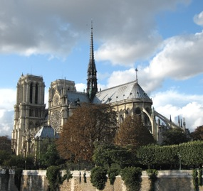 Notre Dame seen from the Left Bank