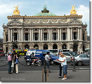 Palais Garnier, Place de l'Opéra, Paris, France