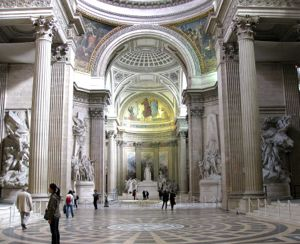 Interior of Pantheon, Paris