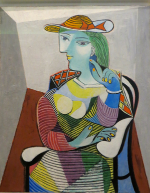 Marie-Therese, by Picasso, Paris