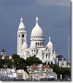 Basilique du Sacree-Coeur, Paris, France