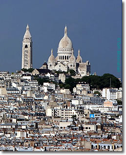 Basilique du Sacre-Coeur, Paris, France