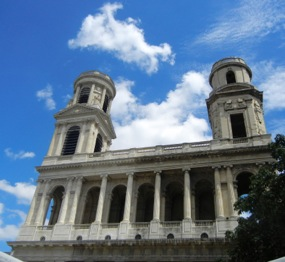 Towers of St-Sulpice Church, Paris