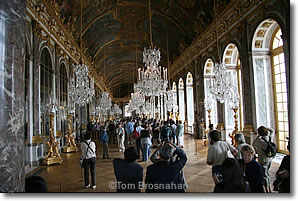 Hall of Mirrors, Château de versailles, Paris, France