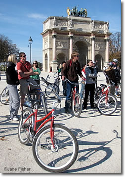 Bikes In Paris France Bicycles in Paris France