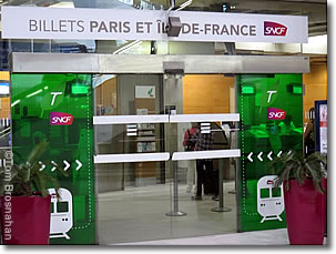 How to Buy Train Tickets at CDG Airport Paris France