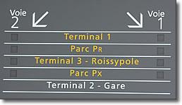 Rer B Train Charles De Gaulle Airport And Paris