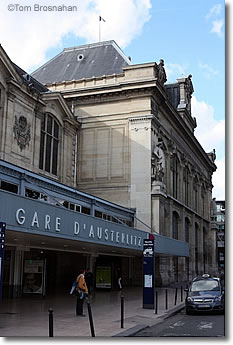 Gare d 39 austerlitz paris france for Train tours paris austerlitz