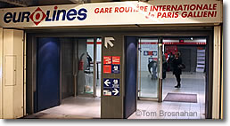 Intercity buses to from paris france - Gare routiere paris gallieni porte bagnolet ...