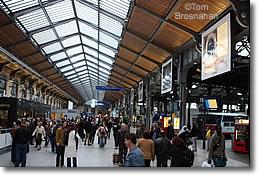 Gare saint lazare train station paris france - Restaurant gare saint lazare ...