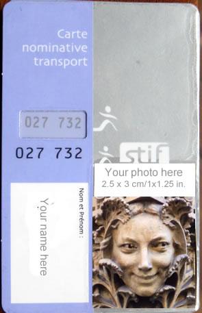 Navigo transit pass paris france for Paris orange card
