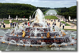 Fountains at the Palais de Versailles, near Paris, France