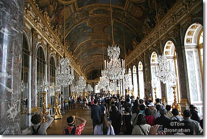 Hall of Mirrors, Palais de Versailles, near Paris, France