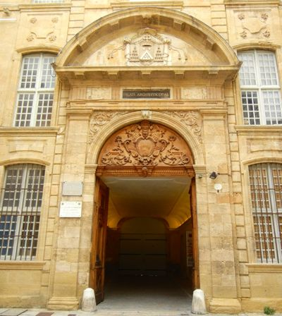 Archbishop's Palace, Aix-en-Provence, France