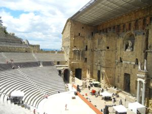 Ancient theater, Orange, France