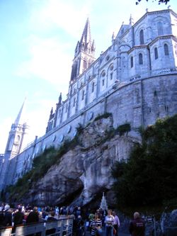 Basilicas and Grotto, Lourdes, France